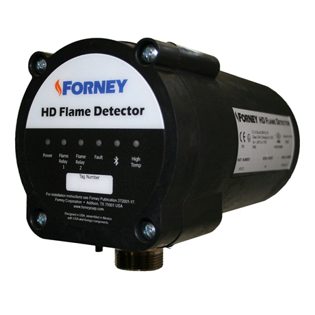 FORNEY IDD-II SMALL DIA 383221 FLAME DETECTOR SCANNER MODULE NEW